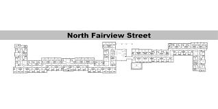 Second Floor Plan Fairview Suites