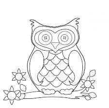 owl coloring page clipart free stock photo public domain pictures