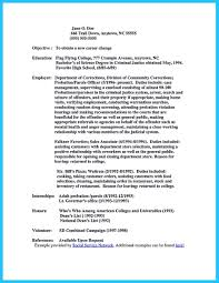 Sample Resume Cook Objectives by Sample Resume For Correctional Officer Free Resume Example And