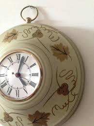 outstanding primitive wall clock 48 wood primitive wall clock
