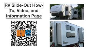 rv slide out all about slide outs how to videos
