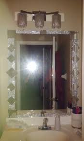 Target Wall Decor by Frame Bathroom Mirror With Tile Bling Wall Decor Target Mirrors