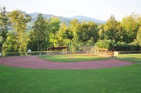 baseball field in backyard home design