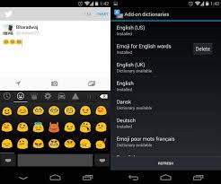 keyboard emojis for android android 4 4 kitkat in depth walkthrough