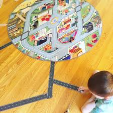 Kids Play Rugs With Roads by Imaginative Play Ideas With The Funfield City Play Rug Creative Qt