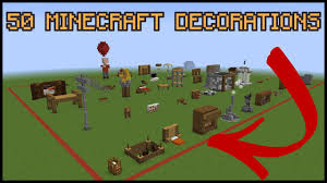 Medieval Decorations 50 Minecraft Decoration Ideas Youtube