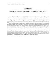 chapter 2 science and technology in modern society science