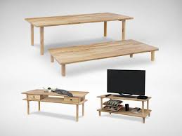 Big Coffee Tables by Hakone Big Coffee Table Tv Console U2013 W1200 Comfort Design