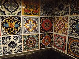 mexican tile bathroom designs dusty coyote mexican tile kitchen backsplash diy