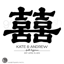 happiness symbol happiness symbol with personalized names date feng shui