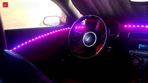 Automotive Led Light Strips Dream Color Car Led Strip Lighting Youtube