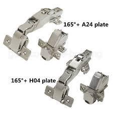 Repair Cabinet Door Hinge Kitchen Cupboard Door Hinge Pair Repair Kit Plate Mounting Plates