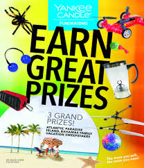 home interior candle fundraiser prizes and incentives for fundraisers