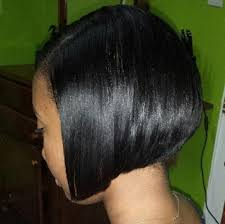 relaxed short bob hairstyle relaxed hair caribbean tresses
