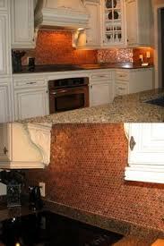 Copper Penny Tile Backsplash - forget him knot penny backsplash diy for the love of copper