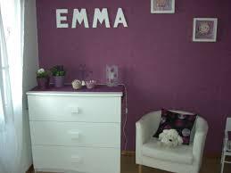 chambre violet et blanc chambre mauve fille