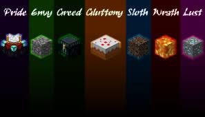 seven deadly sins seven deadly sins minecraft wallpaper minecraft blog