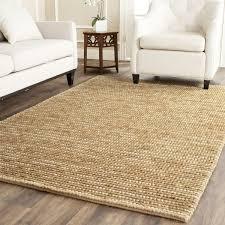 safavieh hand knotted bohemian beige wool rug 6 u0027 x 9 u0027 free