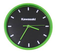 new genuine kawasaki wall clock mug and umbrella now available