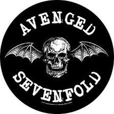 Avenged Sevenfold Flag Avenged Sevenfold Death Bat Back Patch