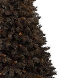 chocolate truffle artificial brown christmas tree treetopia