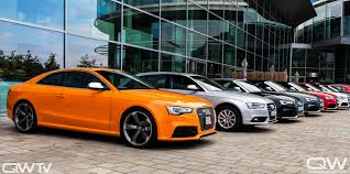 european delivery audi solar orange rs 5 and european delivery quattroworld audi a5