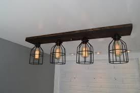 wood beam light fixture lighting ceiling white wood chandelier diy wood beam light