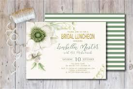 invitations for bridal luncheon bridal luncheon invitation baby shower invitation bridal shower
