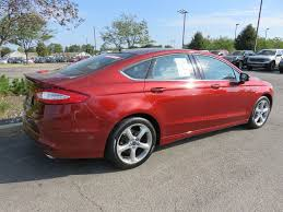 rims for 2014 ford fusion 2014 used ford fusion se fwd 18 alloy wheels sunroof satellite