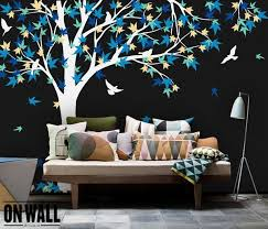 Large Wall Stickers For Living Room by 45 Beautiful Wall Decals Ideas Art And Design