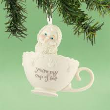 department 56 snowbabies 4031811 you re my cup of tea ornament