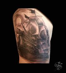 collection of 25 skull and ship tattoos