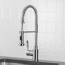 professional kitchen faucets home silver blanco meridian semi professional kitchen faucet single