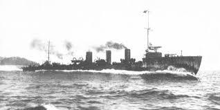 Japanese destroyer Tokitsukaze