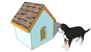 free dog house plans for 2 large dogs