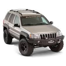 silver jeep grand cherokee 2004 1999 2004 jeep grand cherokee wj cut out style fender flare