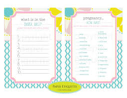 what s in the bag baby shower paper etiquette baby shower summer season