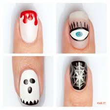 halloween nail art for beginners 12 easy step by step