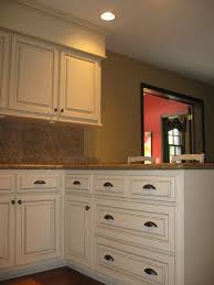 Cream Kitchen Cabinets With Glaze Refacing Images