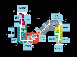 Cvec Outage Map Gurnee Mills Map Center Map Of Gurnee Millsâ A Shopping Center