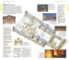 louvre museum floor plan dk eyewitness travel guide paris amazon co uk dk travel