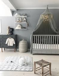 chambre bébé tendance couleur inspirations idee design coucher moderne bebe mixte deco