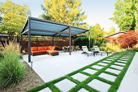 stylish backyard pergola ideas covered pergola enhances beauty and
