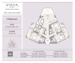 Burj Al Arab Floor Plans Vida Residence Downtown Dubai Emaar Properties