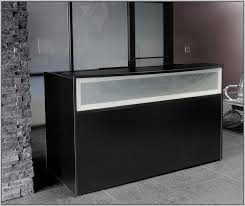 Small Reception Desk Ideas Black Gloss Reception Desk Desk Home Design Ideas Yonrmyz68q24649