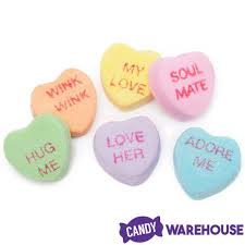 heart candies sweethearts tiny conversation candy hearts modern flavors 1lb