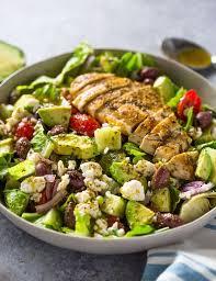 cuisine grecque traditionnelle recette salade composée à la grecque idées testées et approuvées