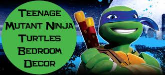 mutant ninja turtles bedroom decor