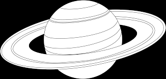 6 pics of saturn planet coloring pages saturn planet outline
