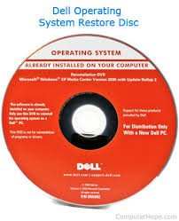 what is a restore disc